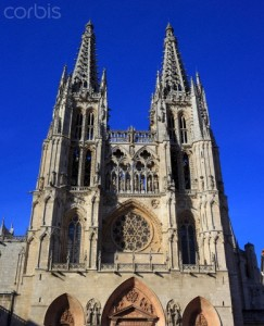 Cathedral, Burgos, Castile and Leon, Spain